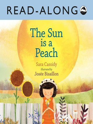 cover image of The Sun is a Peach Read-Along