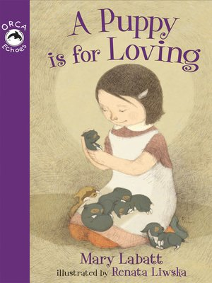 cover image of A Puppy is for Loving