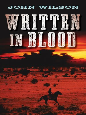 cover image of Written in Blood