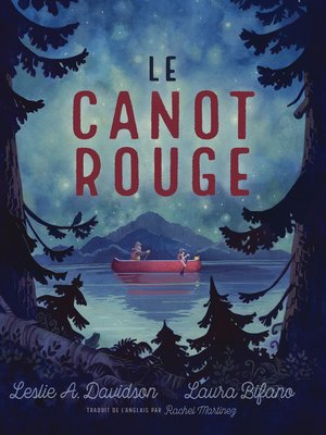 cover image of Le canot rouge
