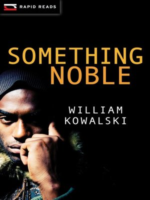 cover image of Something Noble