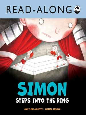 cover image of Simon Steps Into the Ring Read-Along