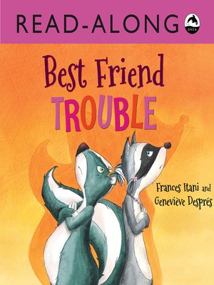 cover image of Best Friend Trouble