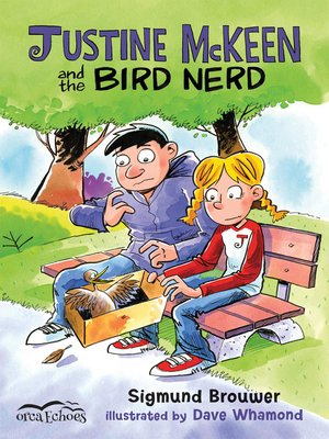 cover image of Justine McKeen and the Bird Nerd