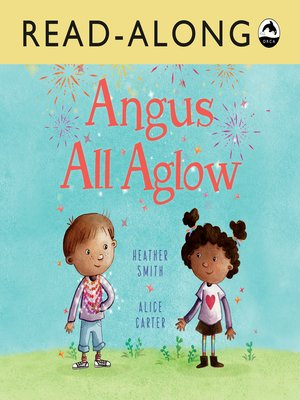 cover image of Angus All Aglow Read-Along