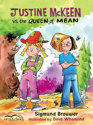 cover image of Justine Mckeen vs. the Queen of Mean