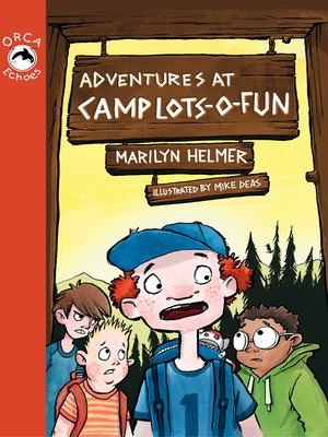 cover image of Adventures at Camp Lots-o-Fun