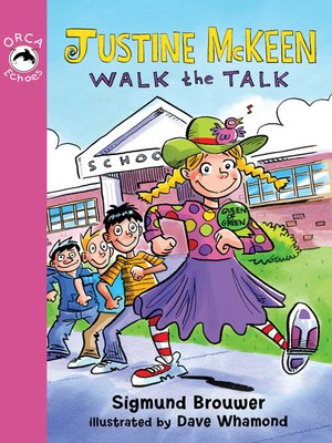 cover image of Justine McKeen, Walk the Talk