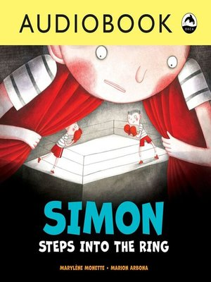 cover image of Simon Steps Into the Ring