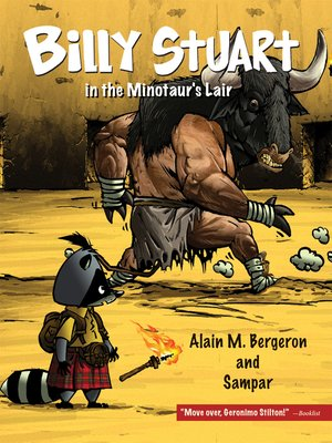 cover image of Billy Stuart in the Minotaur's Lair