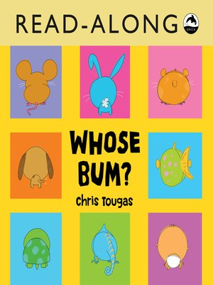cover image of Whose Bum? Read-Along