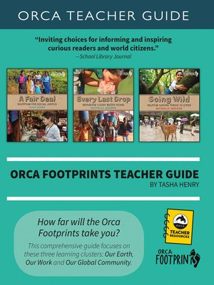 cover image of Orca Footprints Teacher Guide