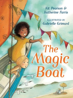 cover image of The Magic Boat