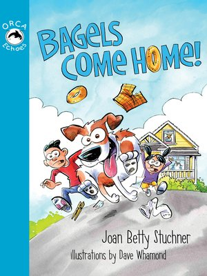 cover image of Bagels Come Home