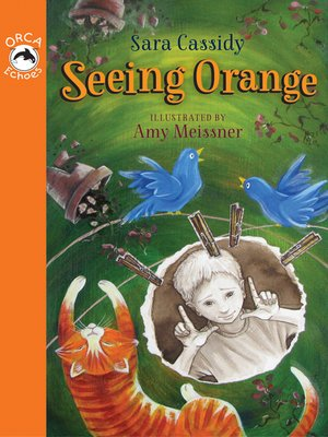 cover image of Seeing Orange