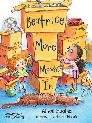 cover image of Beatrice More Moves In