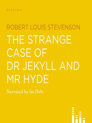 cover image of The Strange Case of Dr Jekyll and Mr Hyde