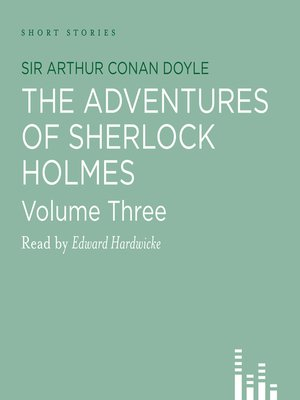 cover image of Adventures of Sherlock Holmes, volume 3