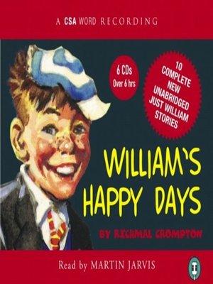 cover image of William's Happy Days