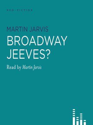 cover image of Broadway, Jeeves?