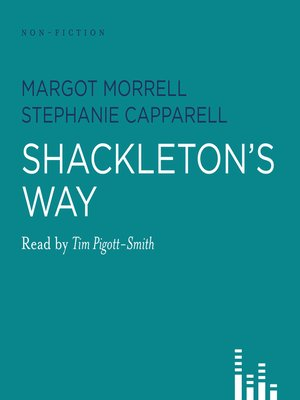 cover image of Shackleton's Way