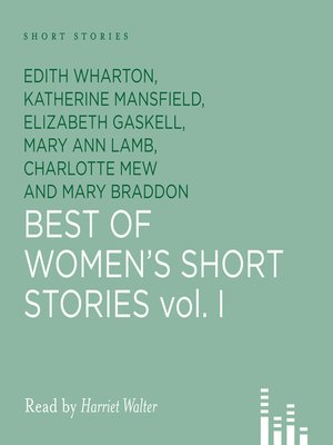 cover image of Best of Women's Short Stories, Volume 1