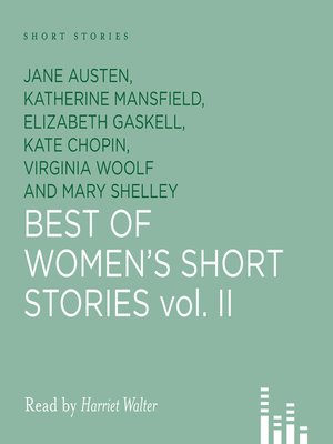 cover image of Best of Women's Short Stories, Volume 2