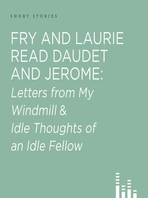 cover image of Fry and Laurie Read Daudet & Jerome