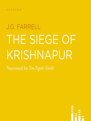 cover image of The Siege of Krishnapur