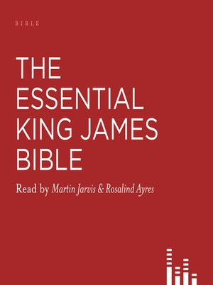 cover image of The Essential King James Bible