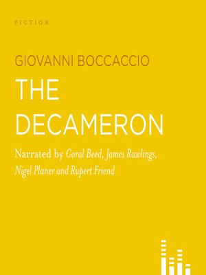 cover image of The Decameron