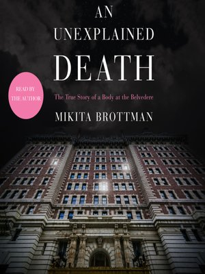 cover image of An Unexplained Death
