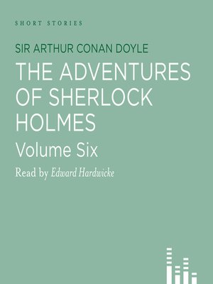 cover image of The Adventures of Sherlock Holmes, volume 6