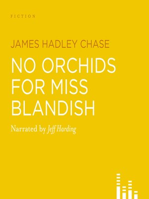 cover image of No Orchids For Miss Blandish