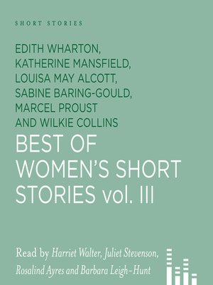 cover image of Best of Women's Short Stories, Volume 3