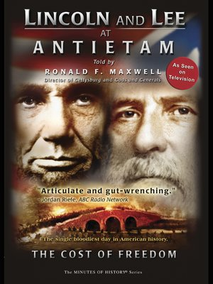cover image of Lincoln and Lee at Antietam
