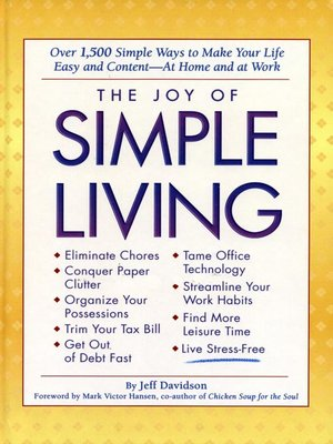 cover image of Joy of Simple Living