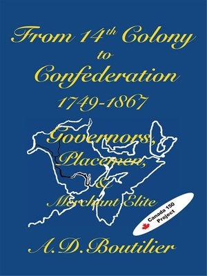 cover image of From 14th Colony to Confederation