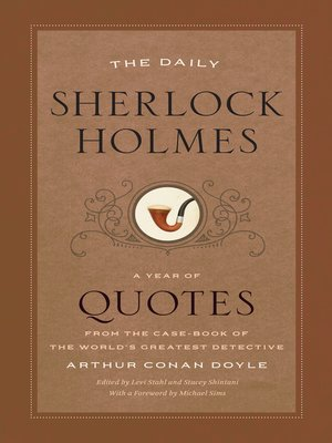 cover image of The Daily Sherlock Holmes