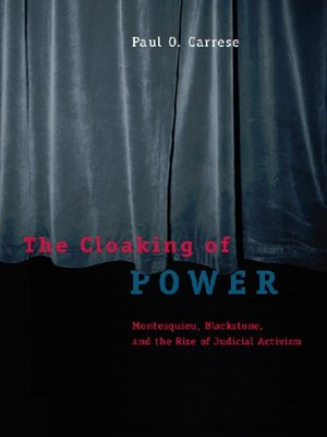 cover image of The Cloaking of Power