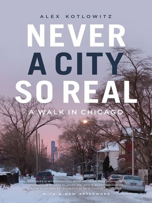 cover image of Never a City So Real