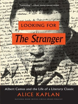 cover image of Looking for the Stranger