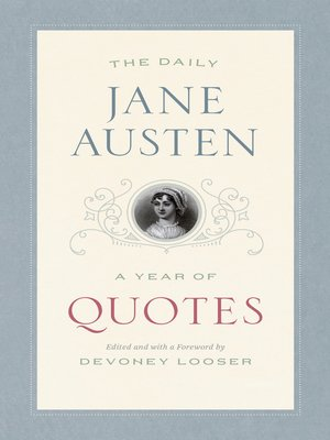 cover image of The Daily Jane Austen