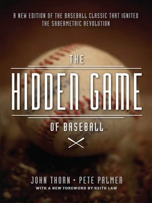 cover image of The Hidden Game of Baseball
