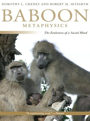 cover image of Baboon Metaphysics