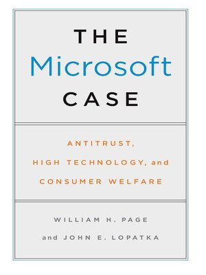 cover image of The Microsoft Case