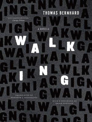 Thomas bernhard overdrive rakuten overdrive ebooks audiobooks cover image of walking fandeluxe Choice Image