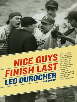 cover image of Nice Guys Finish Last