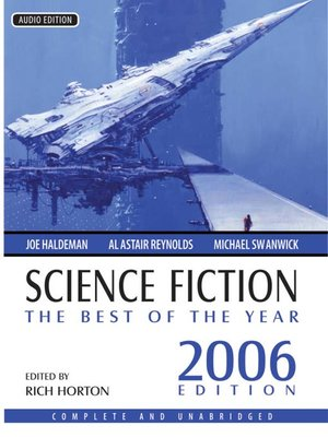 cover image of Science Fiction, The Best of the Year 2006