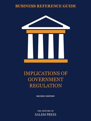 cover image of Implications of Government Regulation